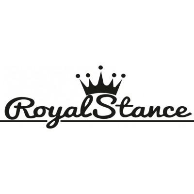 Забавен стикер за кола Royal Stance