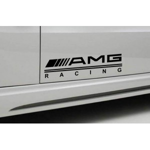 AMG стикер, лепенка за автомобил. 45/10,5 см