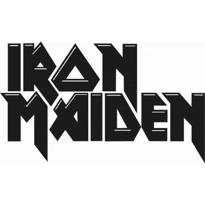 Iron Maiden стикер от фолио за кола, мотор, стена, компютър