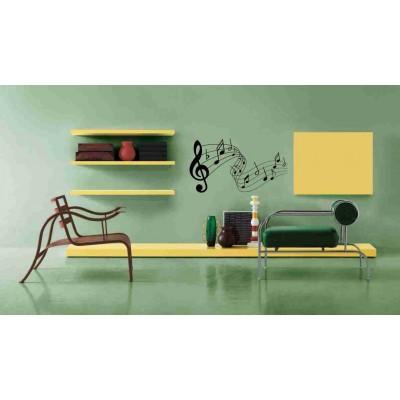 Стикер за стена Музикални ноти