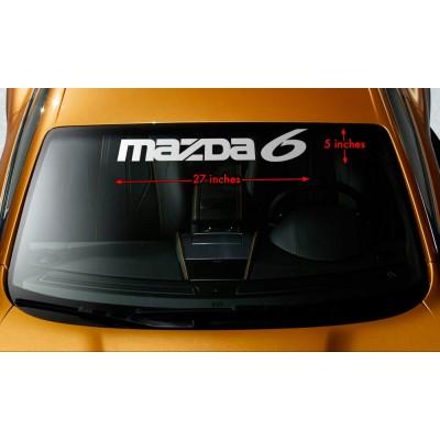 Сенник стикер банер Mazda 6