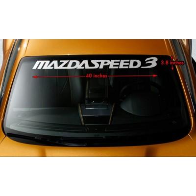 Сенник стикер, лепенка,банер Mazda 3