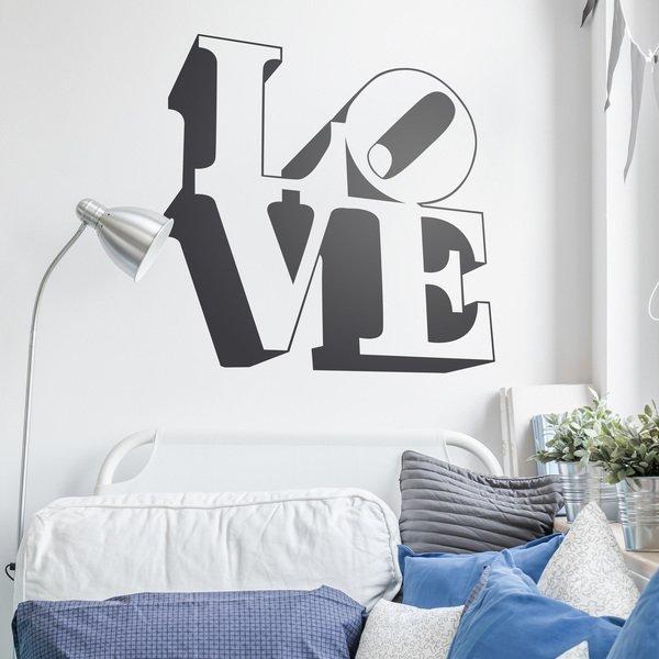 Стикер за стена LOVE , Любов