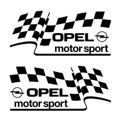 Стикер за опел , тунинг, Opel Motorsport, подходящ за всичко модели