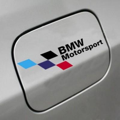 Стикер, лепенка за капачка на автомобил БМВ, BMW Motorsport