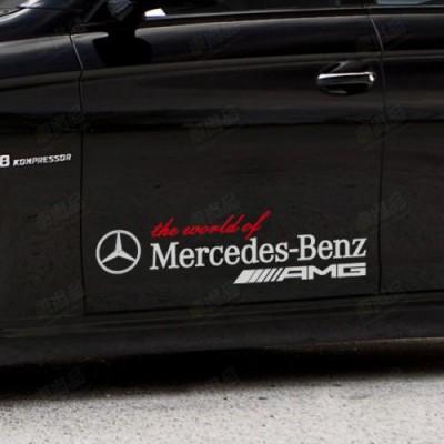 Стикер за мерцедес World Of Mercedes