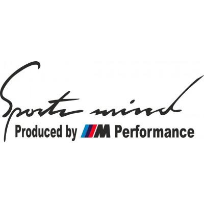 Sport mind стикер M power