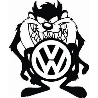 Тазмънийския дявол с когото на VW