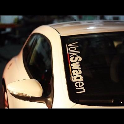 Стикер Volkswagen  с три ленти
