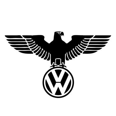 Стикер за задно стъкло VW орел, лого