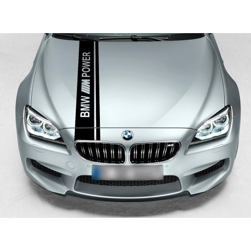 BMW Двойна състезателна лента Racing M Power Motorsport Performance пвц стикер