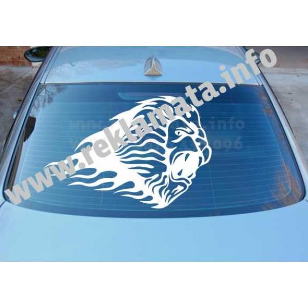 Стикер лъв