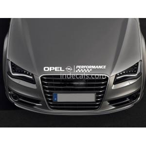 Стикер за Опел Opel Performance преден капак