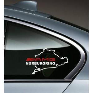 AMG Nurburgring  стикер, лепенка за мерцедес, 2 броя