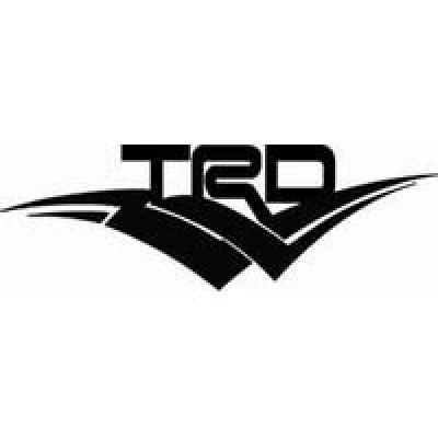 TRD Hood лепенка , състезателна за автомобил, тунинг стикер, лого
