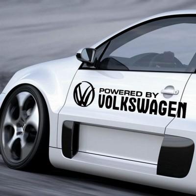 Стикер Powered by Volkswagen