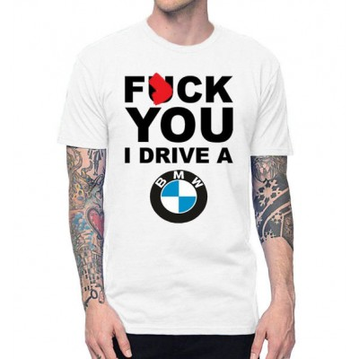 Уникална тениска за BMW