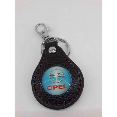 Ключодържател, кожен за Opel