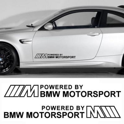 Два стикера за Бмв Powered by M sport