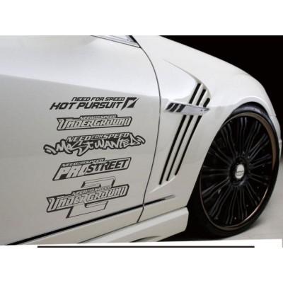 Сет от стикери за кола Need for Speed