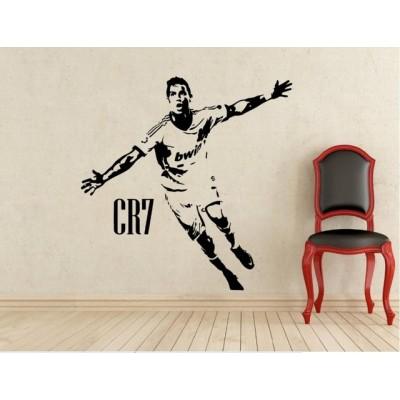 Стикер за стена Кристиано Роналдо