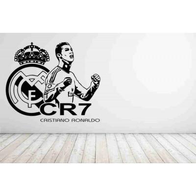 Стикер за стена Кристиано Роналдо Реал Мадрид
