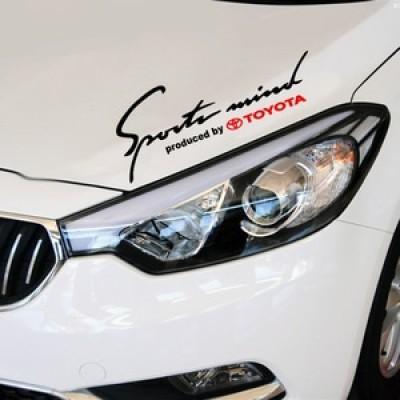Sport mind стикер за Toyota
