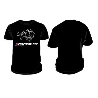 Черна тениска с Пума