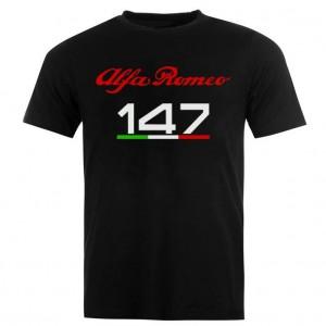 Тениска Алфа ромео 147 с италианското знаме