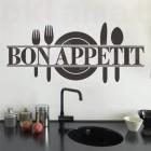 Стикер за стена Bon Appetit